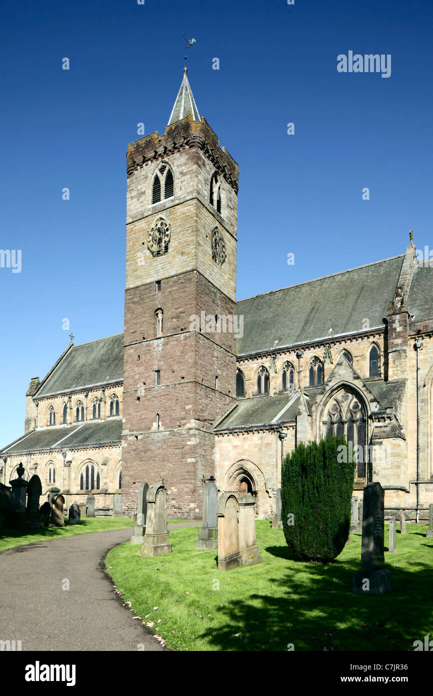 Dunblane Cathedral Perthshire Scotland - Stock Image