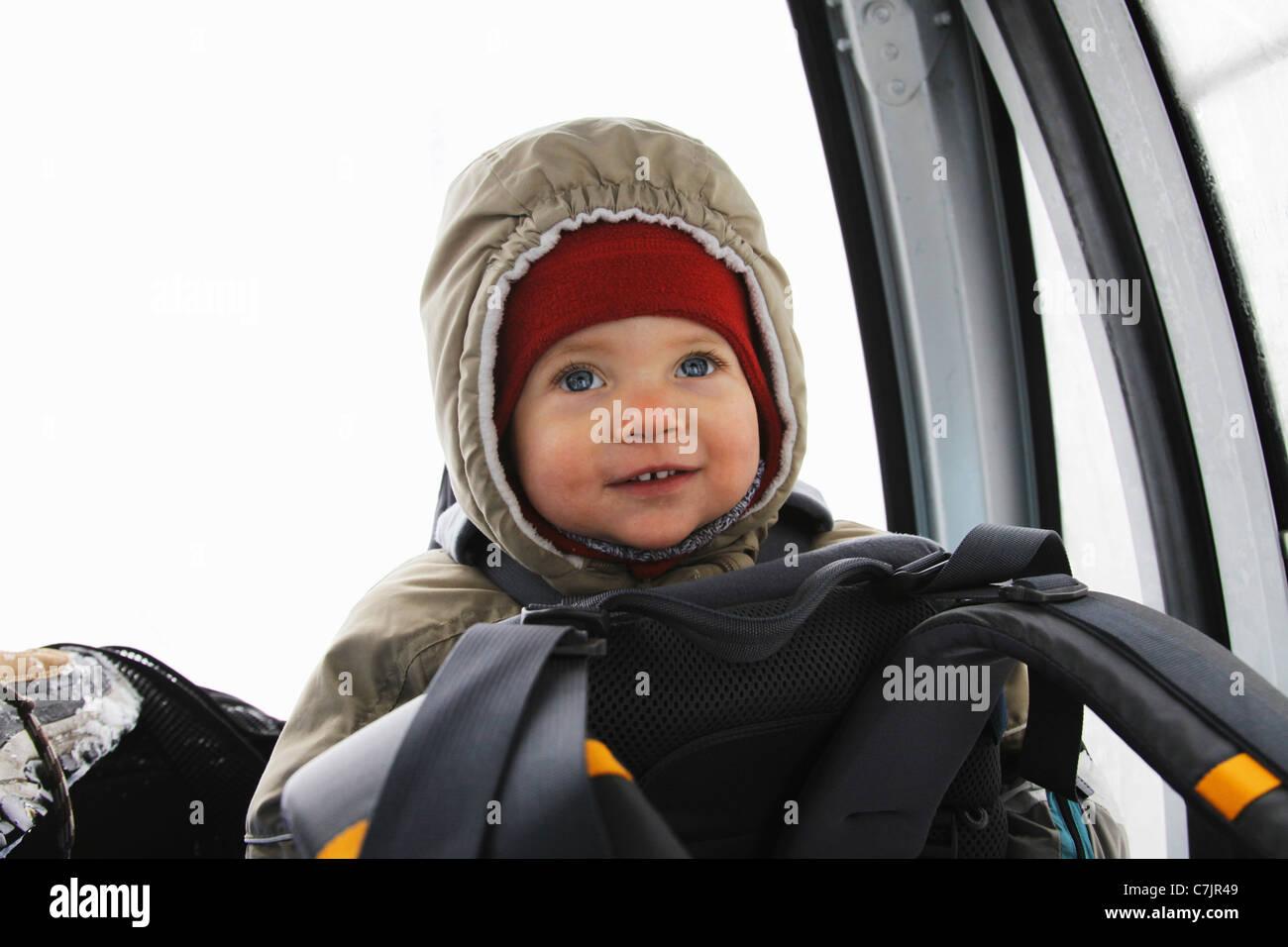 5032d4057de8 Child wearing ski gear Stock Photo  39136617 - Alamy