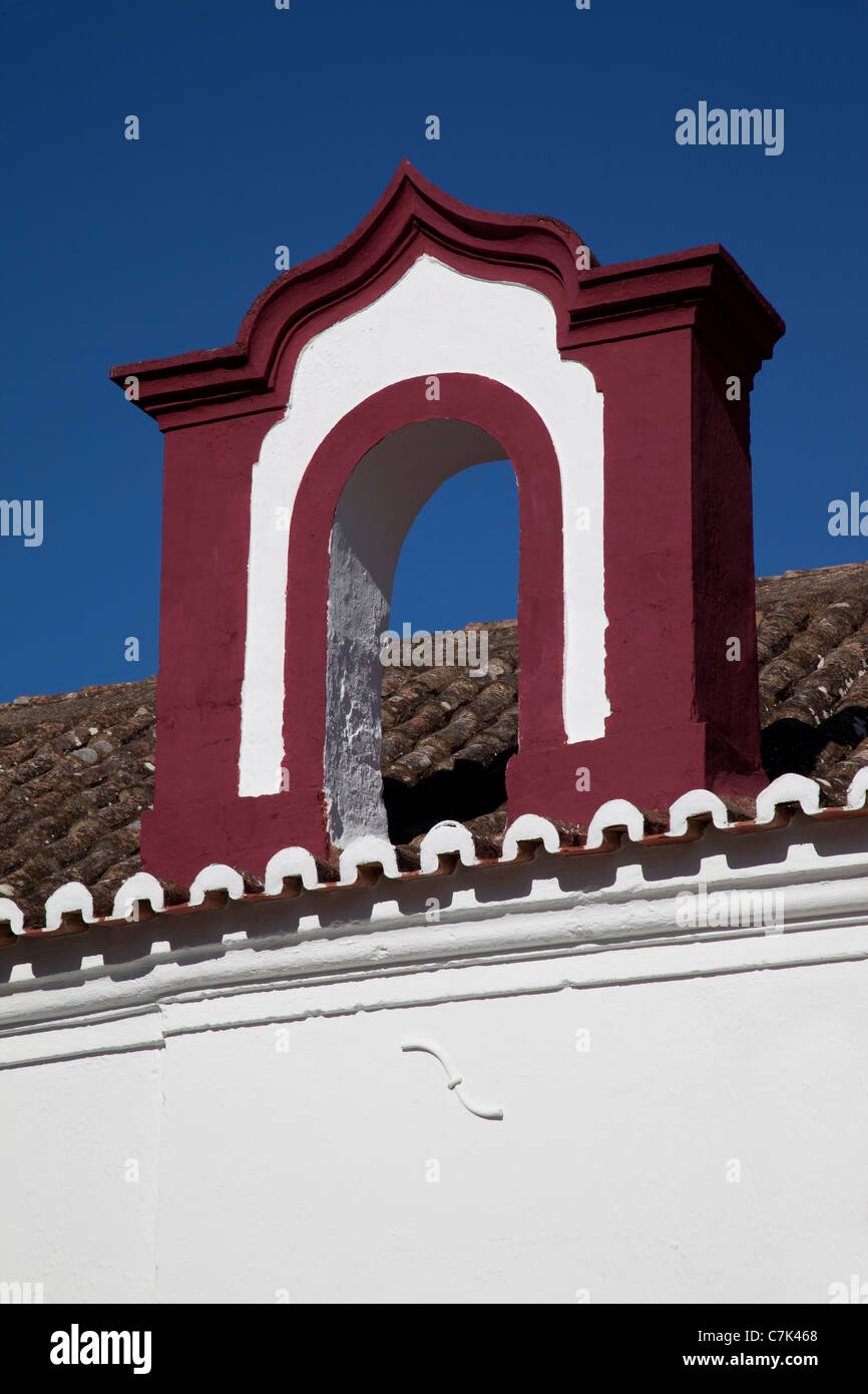Portugal, Algarve, Silves, Traditional Architecture - Stock Image