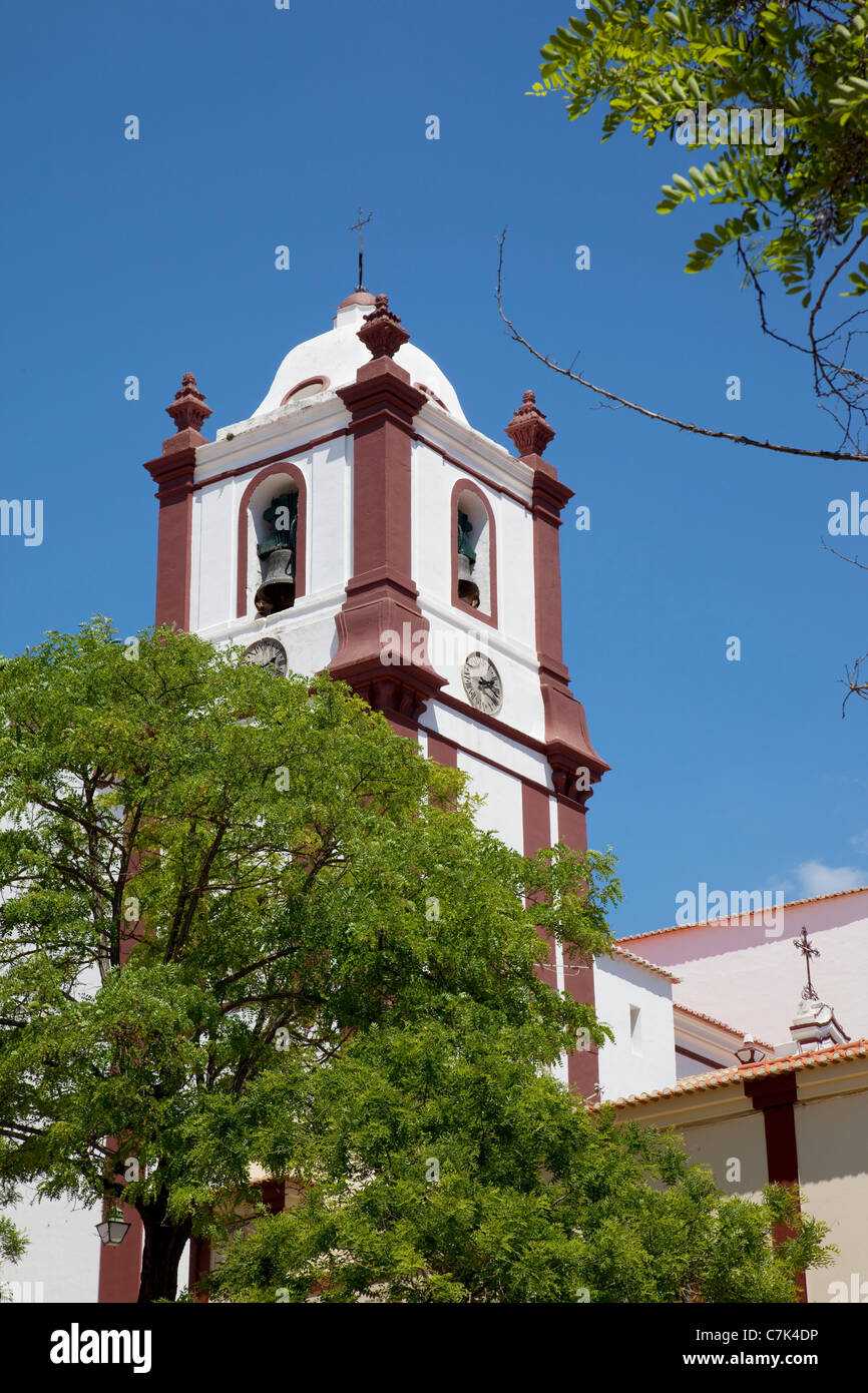Portugal, Algarve, Silves, Cathedral - Stock Image