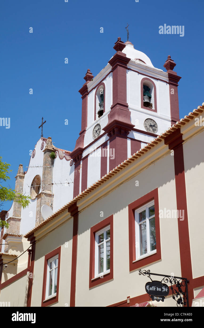 Portugal, Algarve, Silves, Cathedral & Architecture - Stock Image