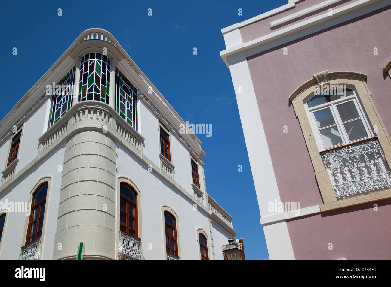 Portugal, Algarve, Silves, Architecture Stock Photo