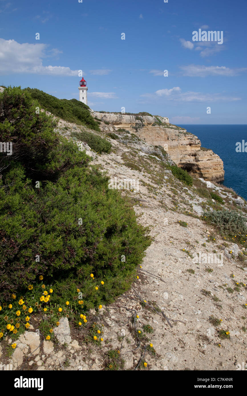 Portugal, Algarve, Praia Da Marinha Stock Photo