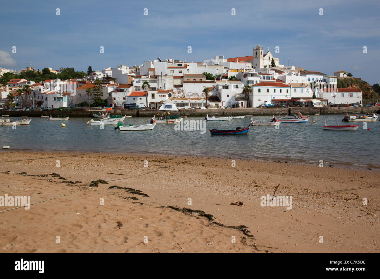 Portugal, Algarve, Ferragudo Stock Photo