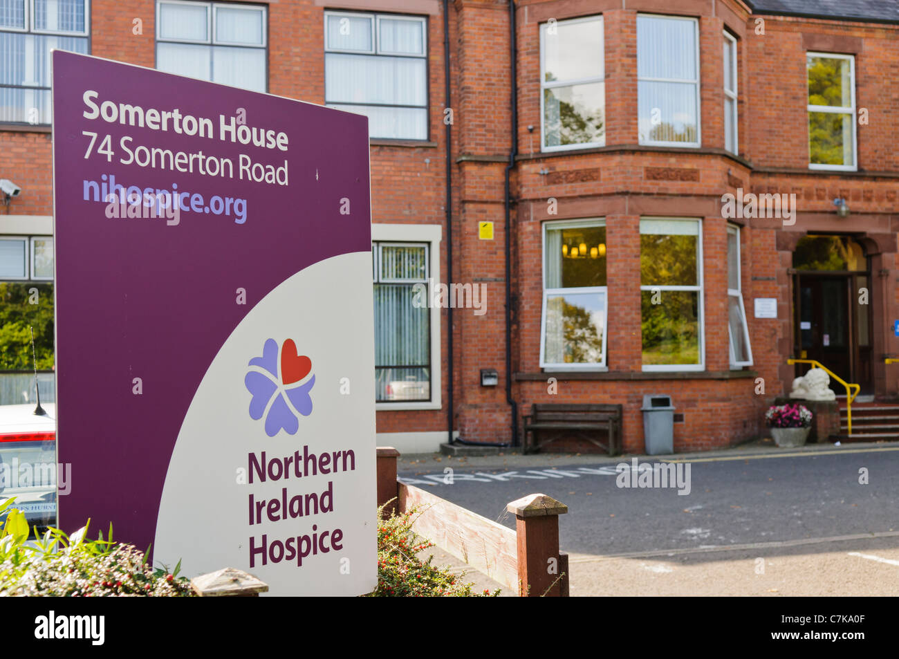 Somerton House, Northern Ireland Hospice - Stock Image