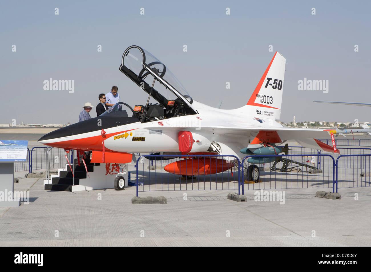 Dubai Air Show  T-50 Golden Eagle, supersonic advanced trainer and