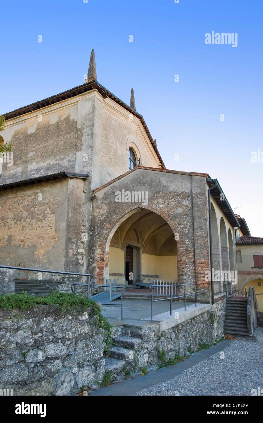 Convento dell'Annunciata, Convent of the Announced, Rovato, Franciacorta, Lombardy, Italy - Stock Image