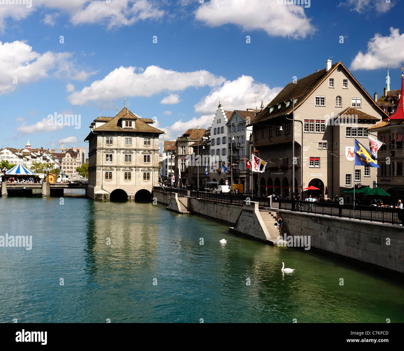 Zurich Switzerland - Stock Image
