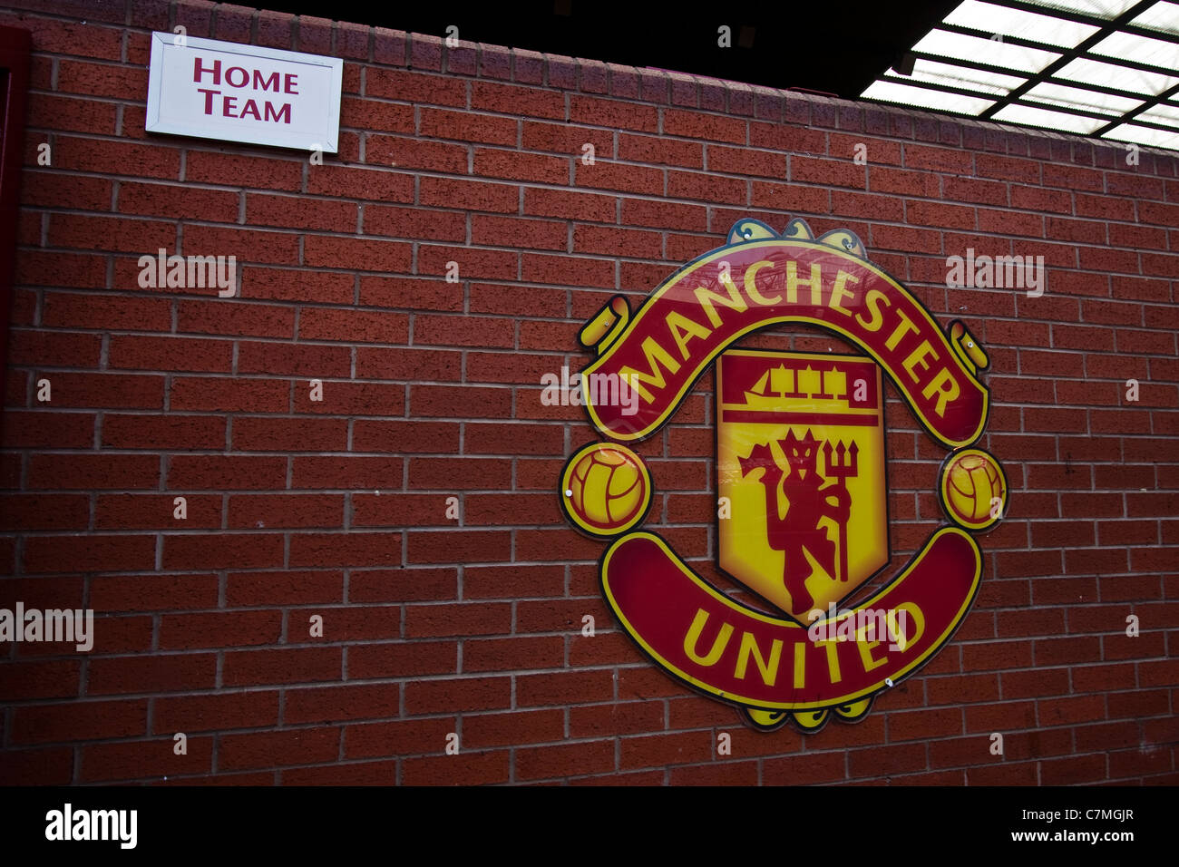 Old Trafford - Home of Manchester United - Stock Image