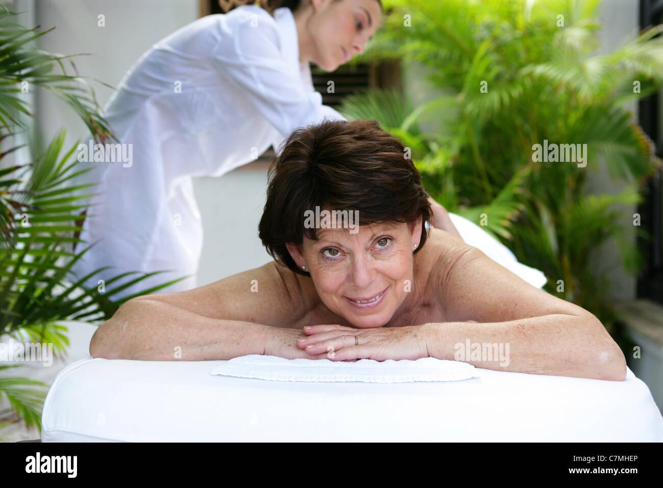 Fat Mature Massage