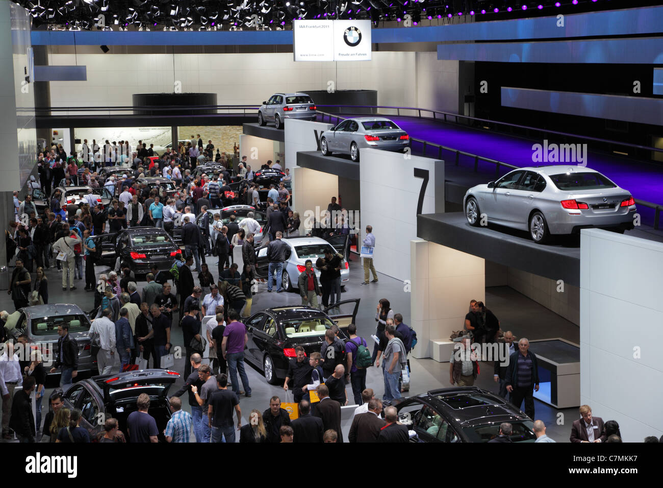 BMW stand at the 64th IAA (Internationale Automobil Ausstellung) on ...