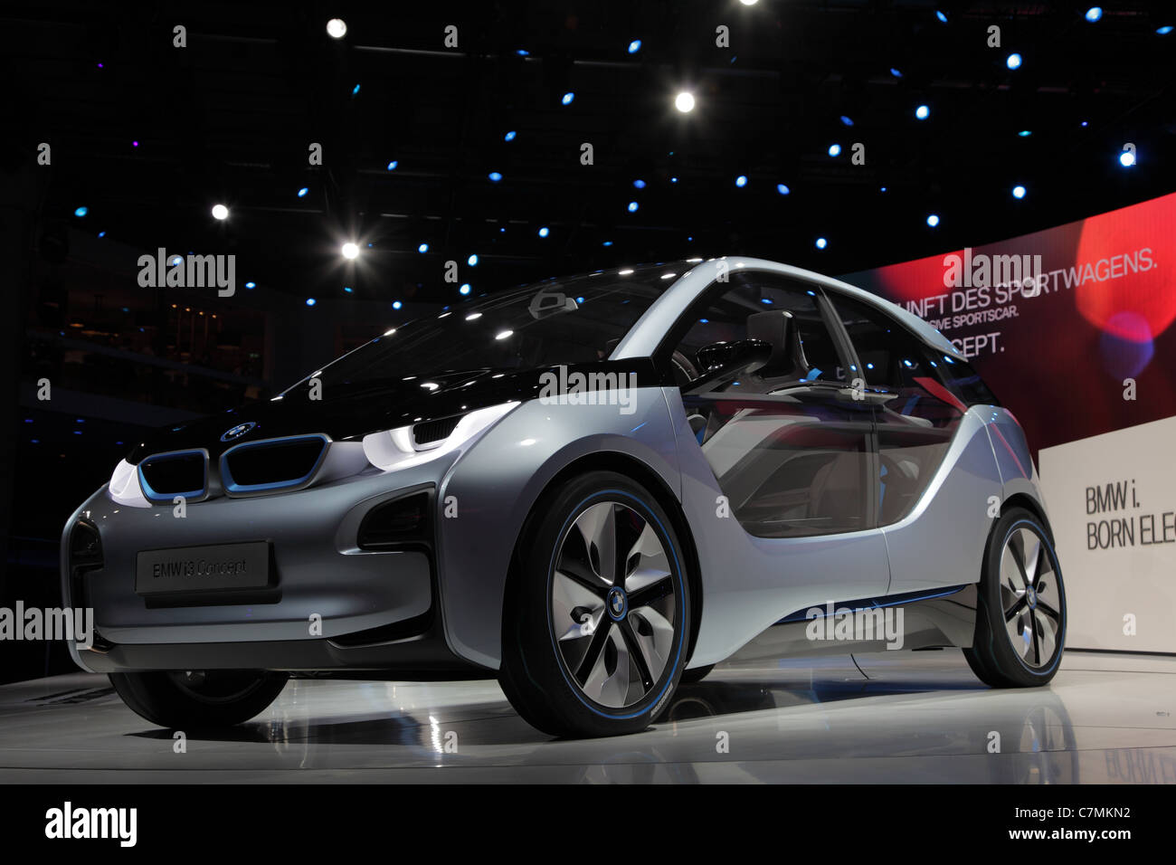 BMW electric concept car i3 at the 64th IAA (Internationale Automobil Ausstellung) - Stock Image