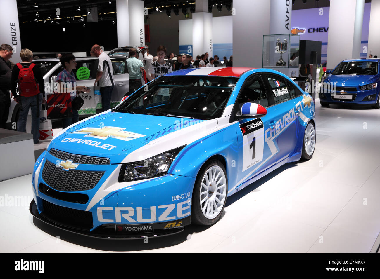 Chevrolet Cruze Racing Car at the 64th IAA (Internationale Automobil ...