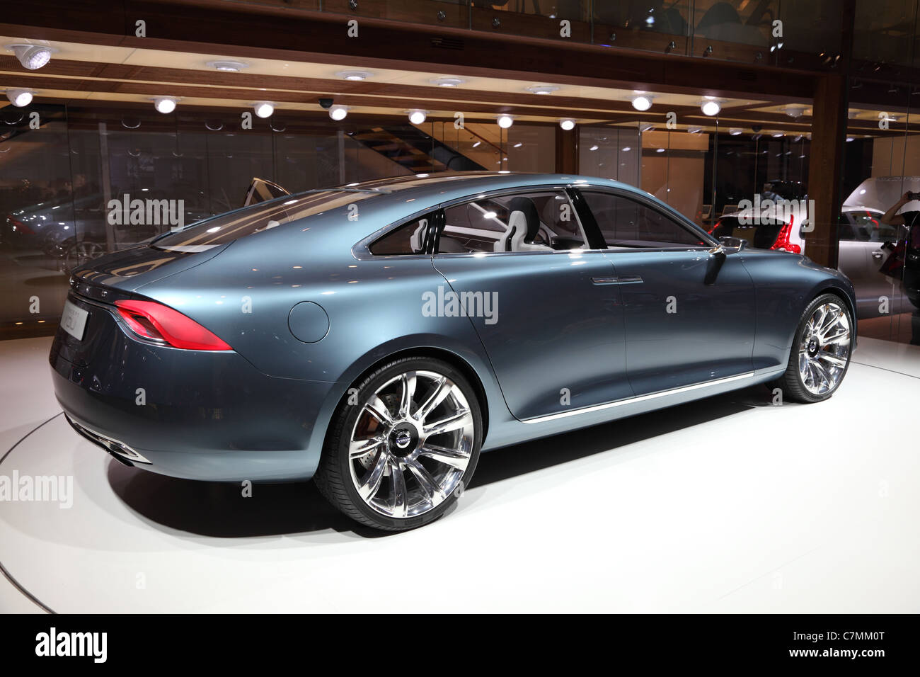 Volvo Concept Car You at the 64th IAA (Internationale Automobil Ausstellung) on September 24, 2011 in Frankfurt - Stock Image