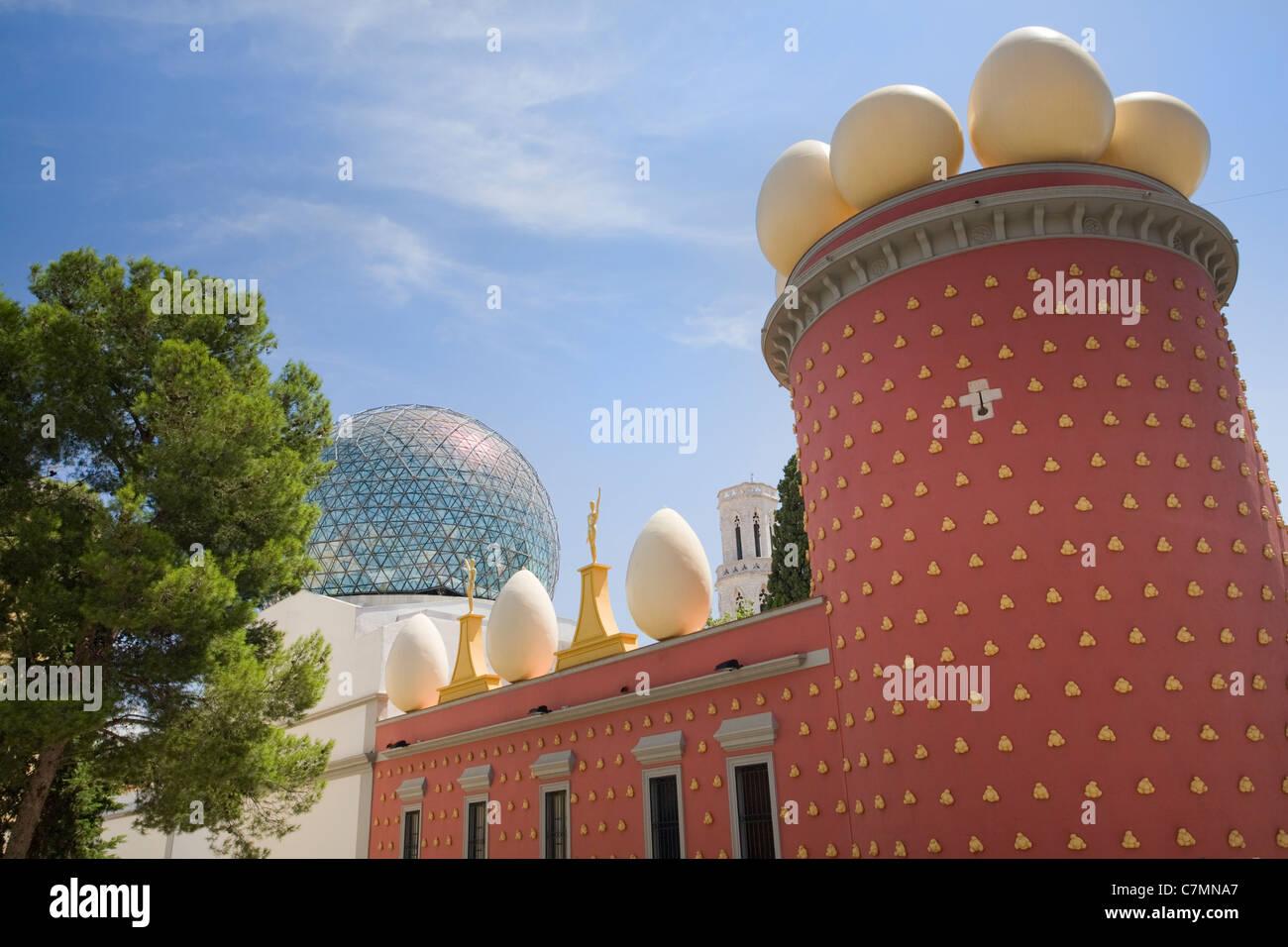 Teatre-Museu Dali, Figueres, Catalonia, Spain - Stock Image