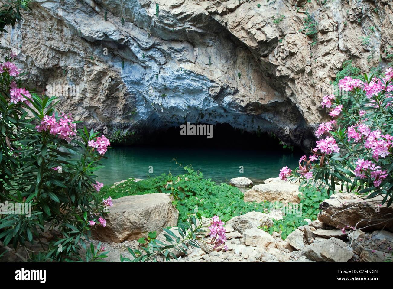 Altınbeşik Cave Ibradi Antalya Turkey - Stock Image
