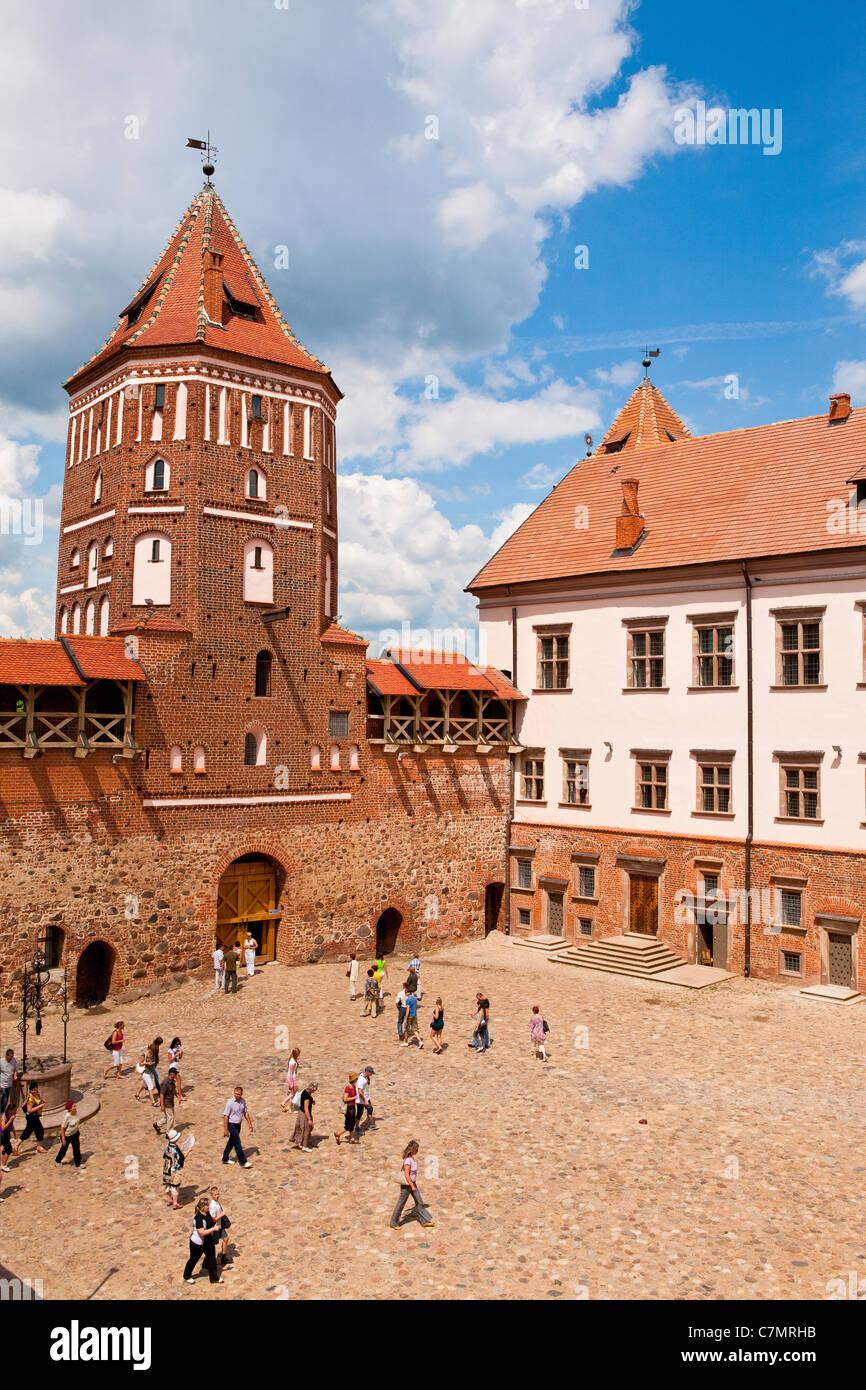 Mir Castle Complex, Belarus - Stock Image