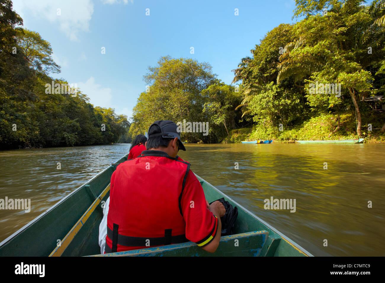 Temburong River, Brunei Darussalam - Stock Image