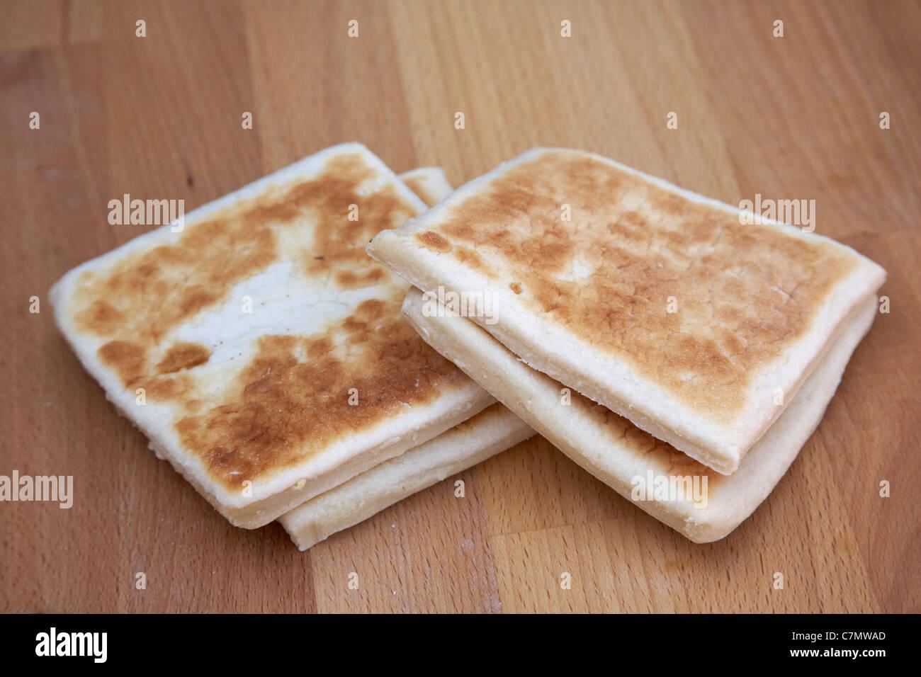Northern Irish Potato Bread Or Potato Farls Stock Photo 39182261