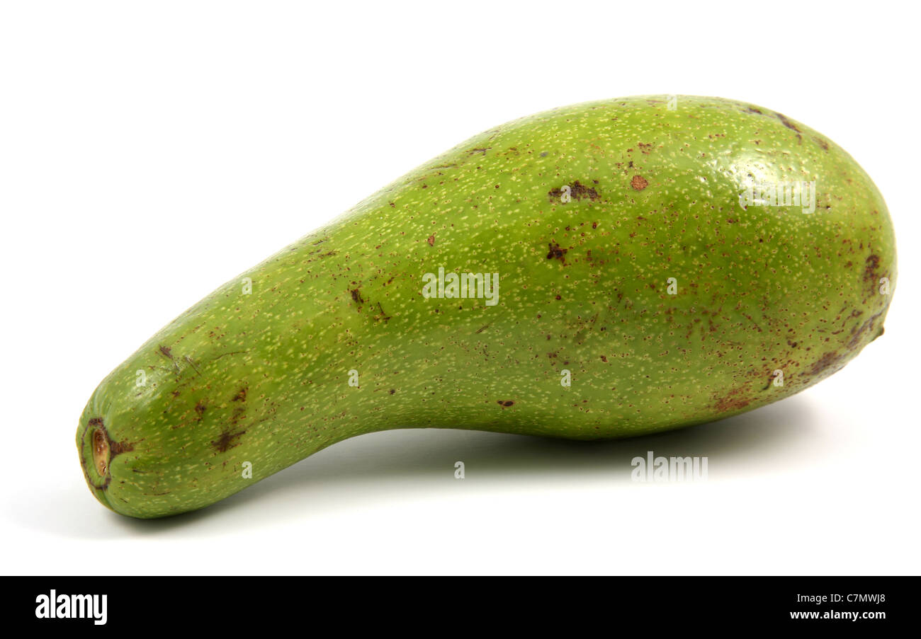Green avocado. - Stock Image
