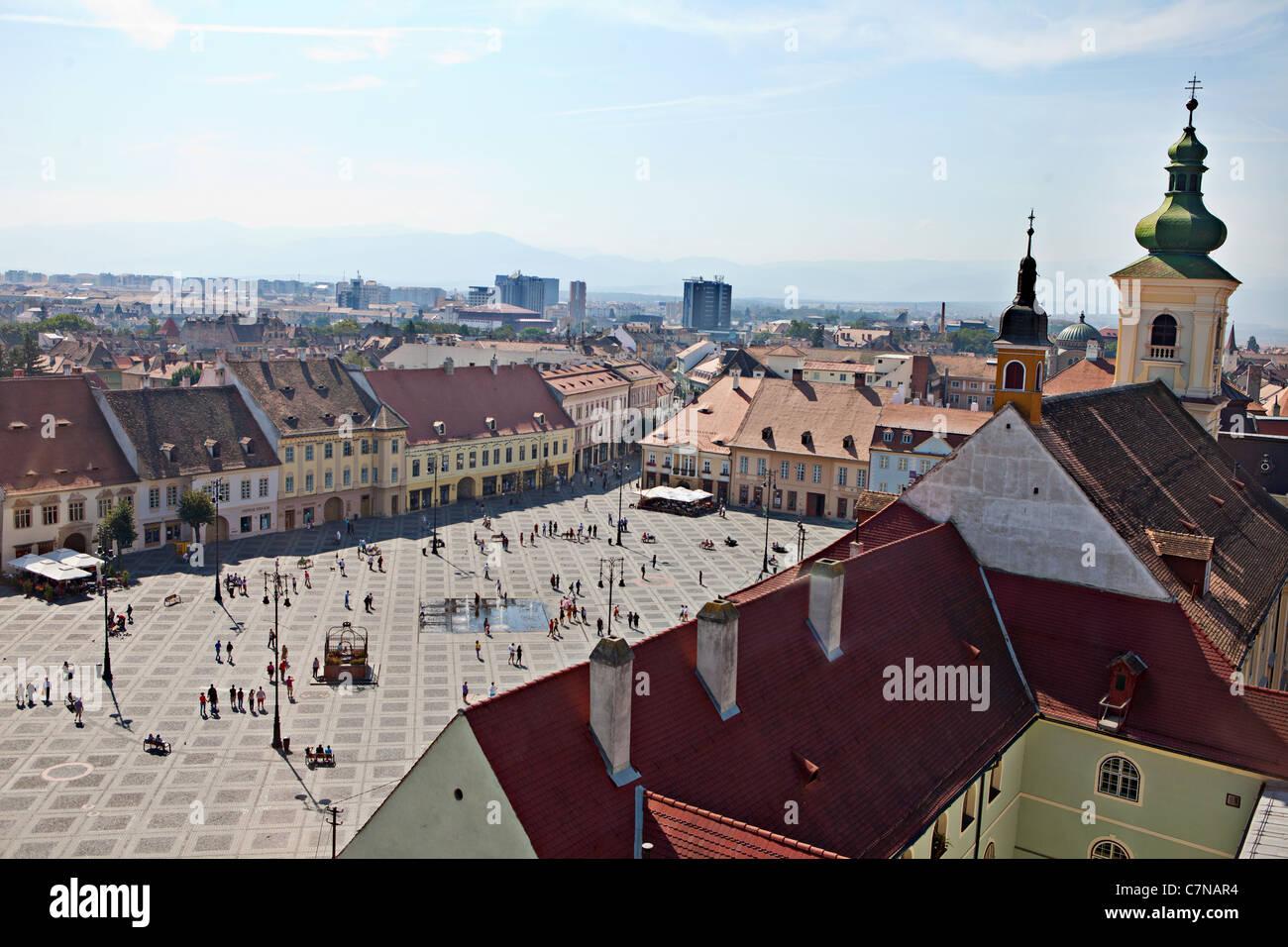 Sibiu, Romania - Stock Image