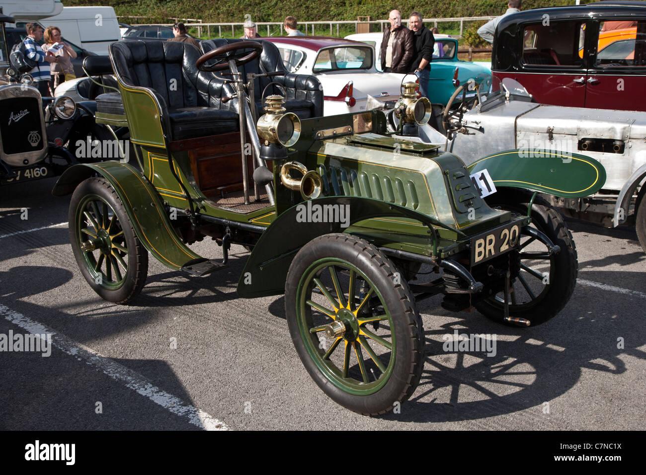1903 De Dion Bouton Veteran car - Stock Image