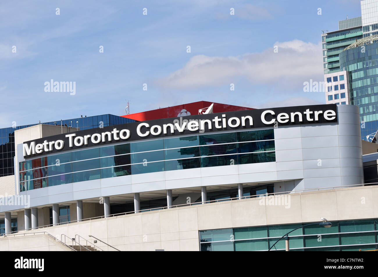 Metro Toronto Convention Centre - Stock Image