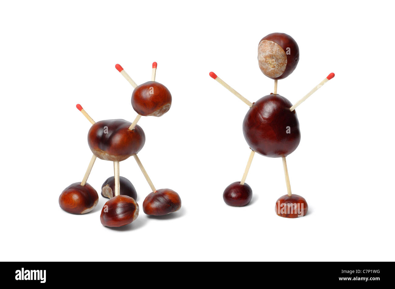 Chestnuts Toys - Stock Image