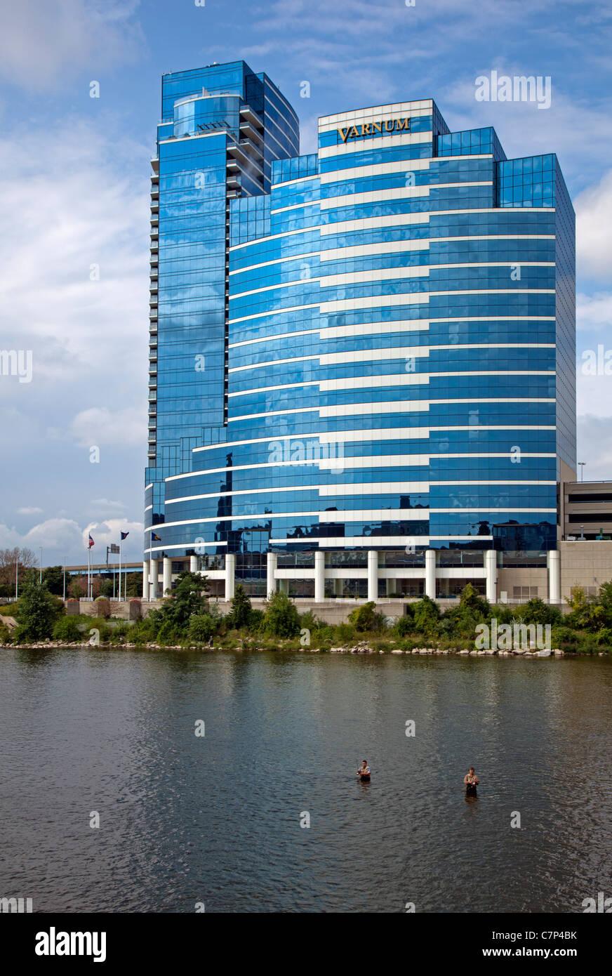 Bridgewater Place in Grand Rapids - Stock Image