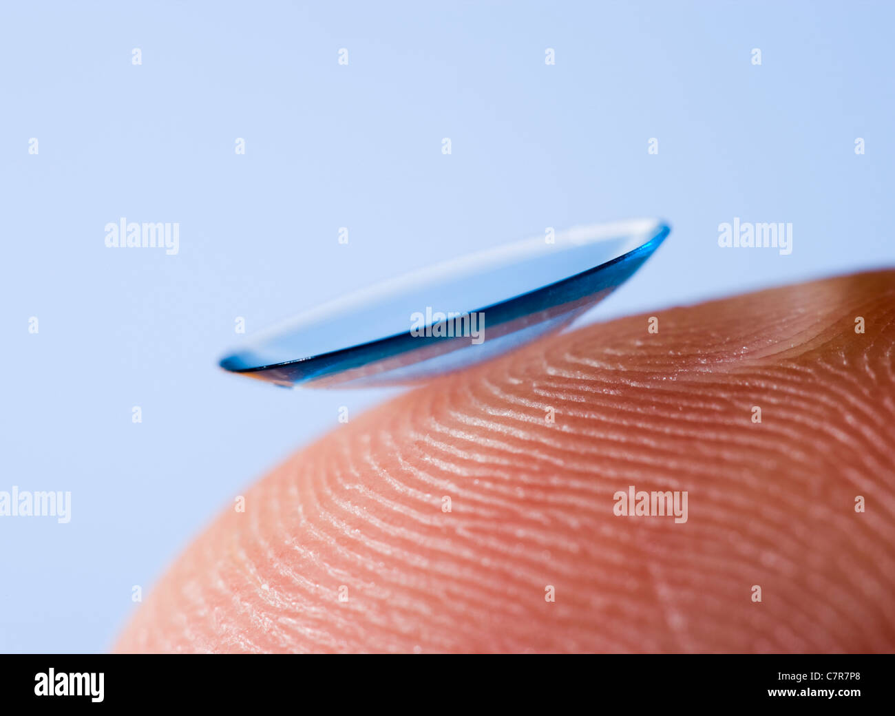 Contact lens. - Stock Image