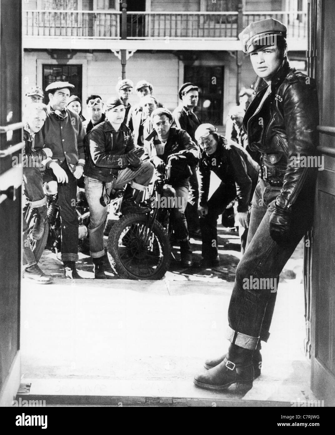 THE WILD ONE 1953 Columbia film with Marlon Brando Stock ...