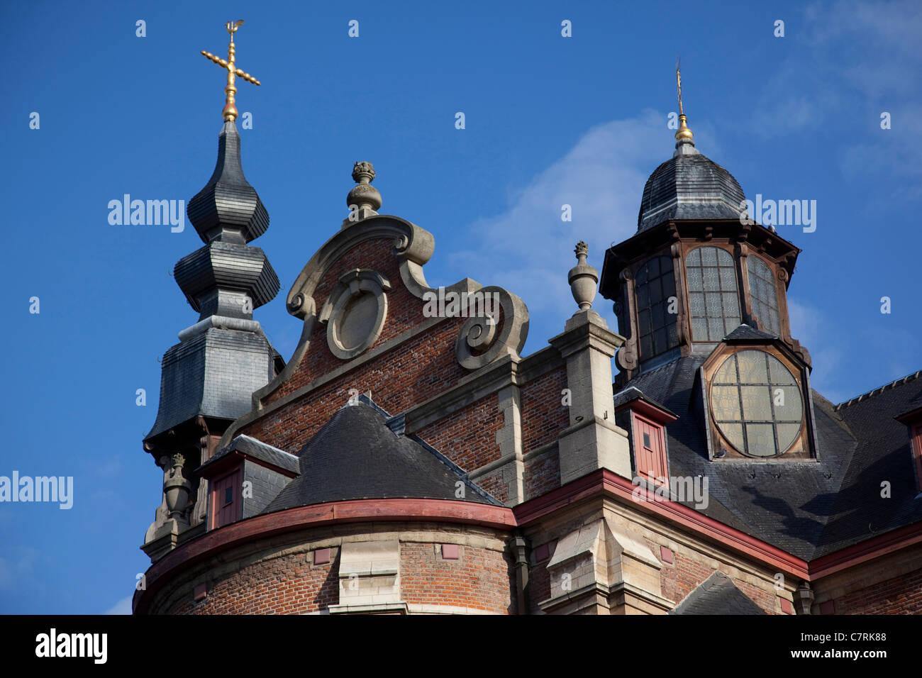 Belgium, Flanders, Brussels, Notre Dame aux Riches Claire, Church - Stock Image