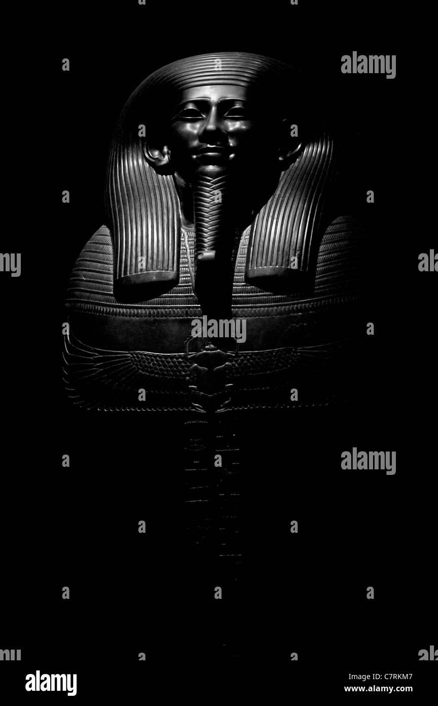 Egyptian Statue model - Stock Image