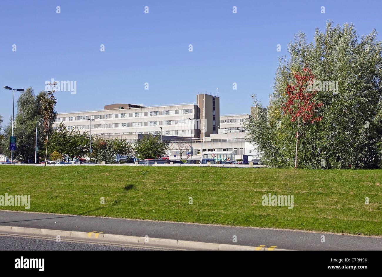 Glan Clwyd District General Hospital, Bodelwyddan, North Wales. - Stock Image