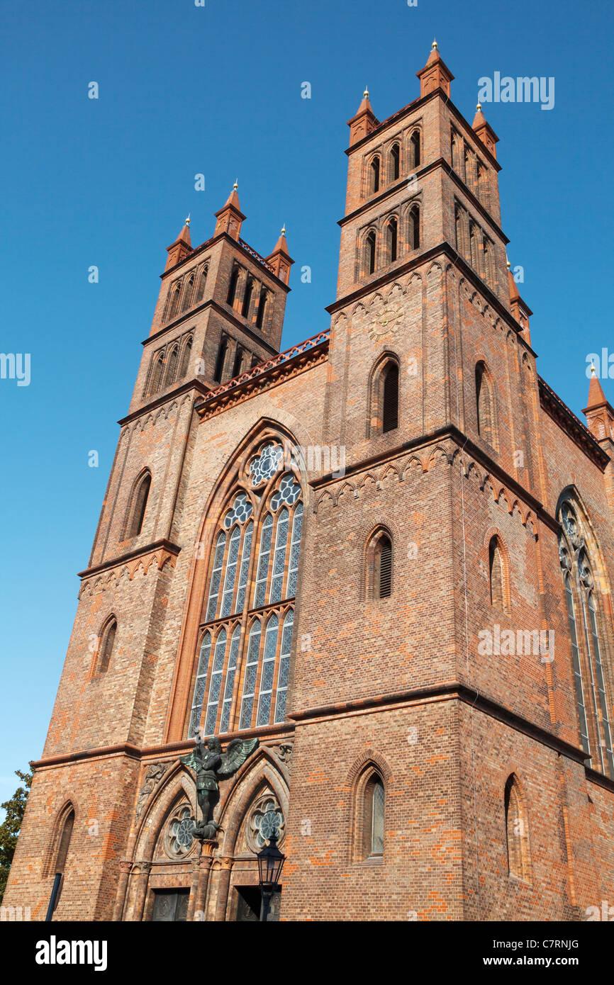 Friedrichswerdersche Kirche, Berlin, Germany Stock Photo