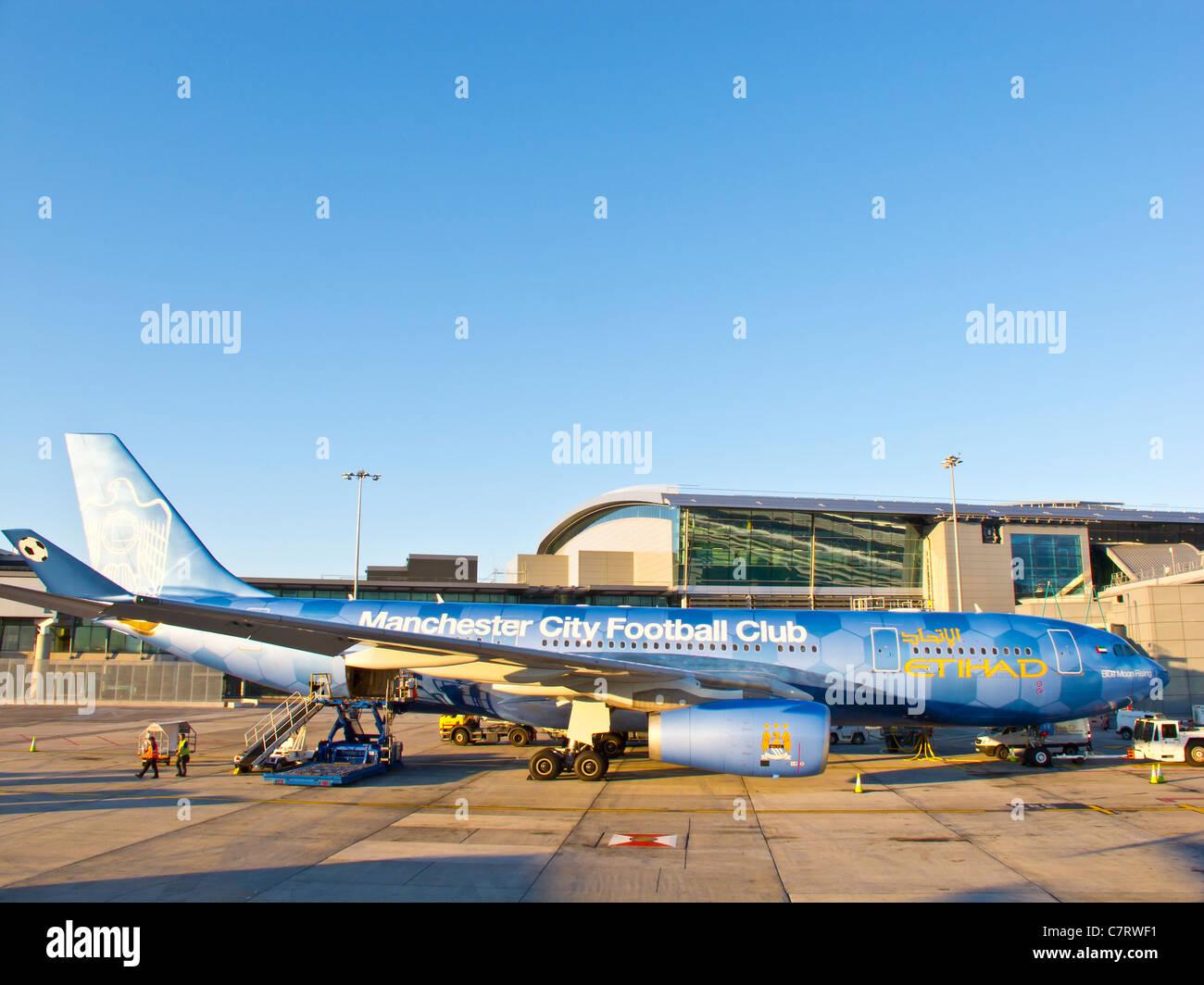 Airbus 330 plane - Stock Image