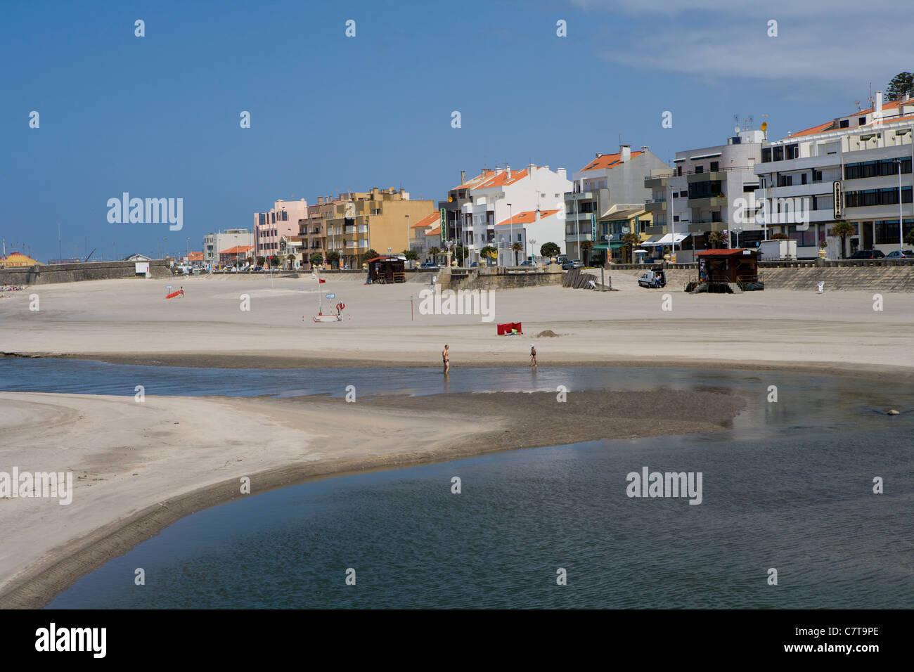 Vila Praia de Ancora beach - Stock Image
