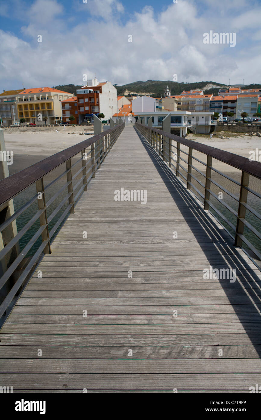 Vila Praia de Ancora beach, Portugal - Stock Image