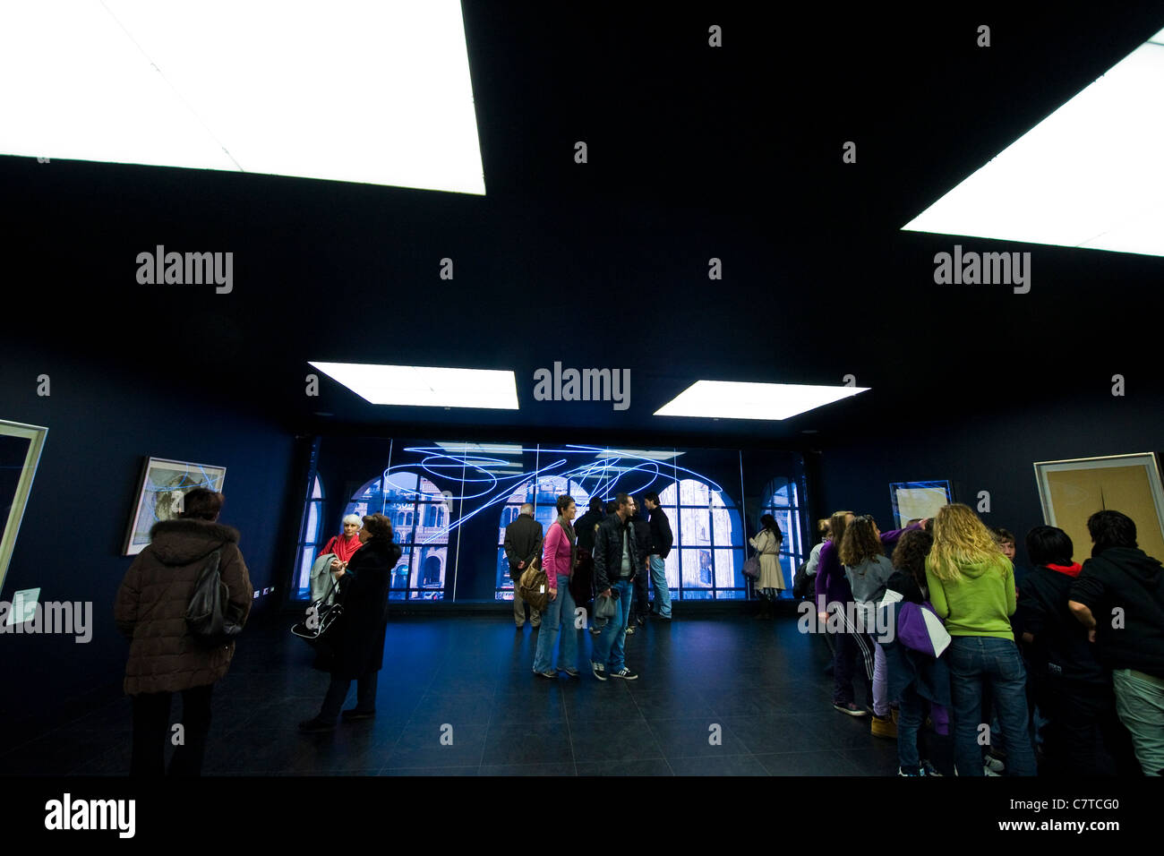 Italy, Lombardy, Milan, the Museo del Novecento - Stock Image