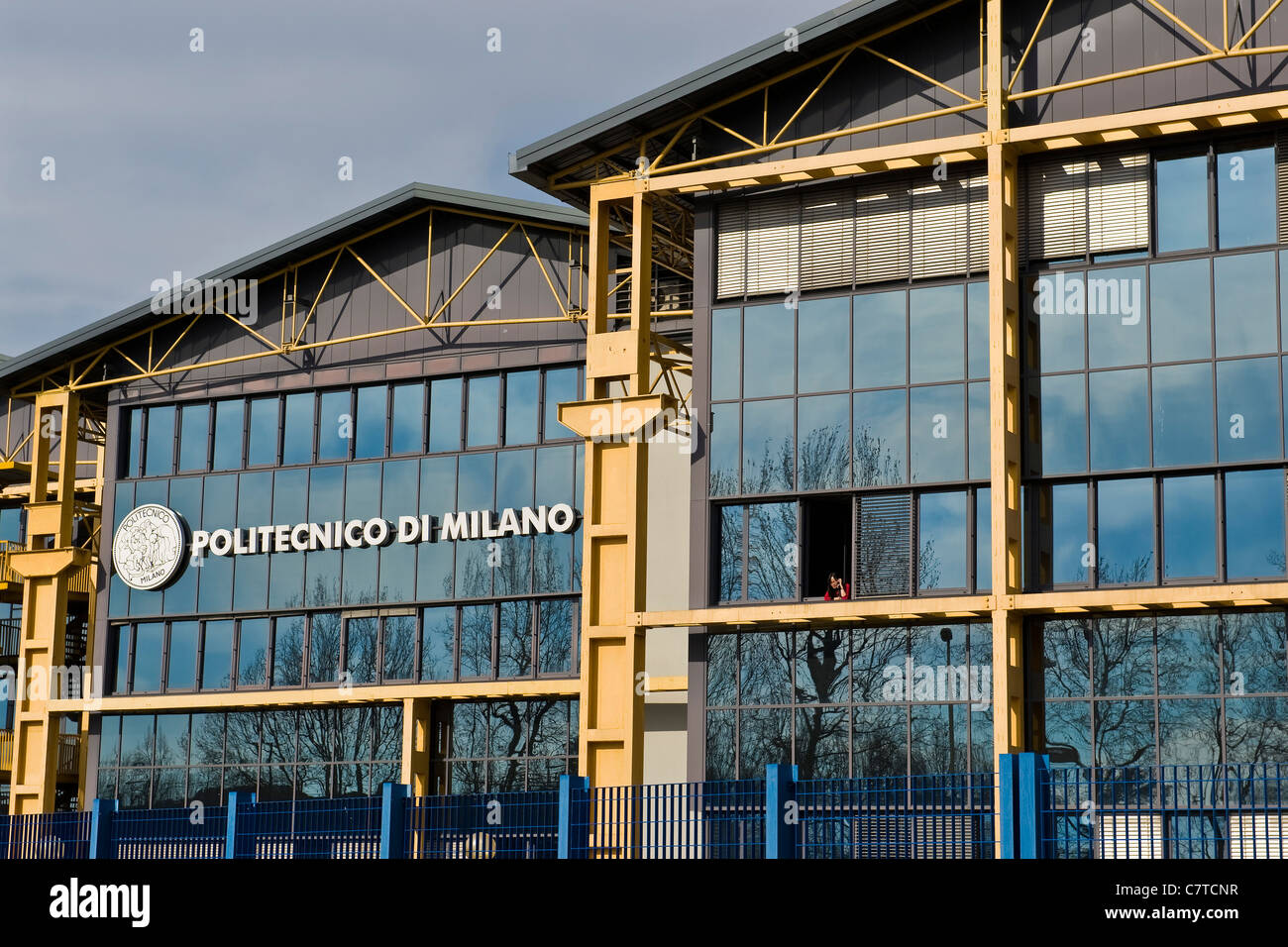 Italy Lombardy Milan The Faculty Of Engineering Polytechnic Stock Photo Alamy