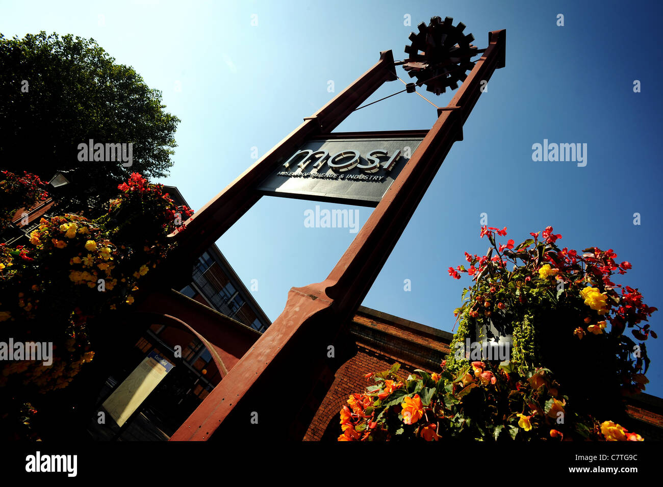The Museum of Science and Industry, Manchester, England. Picture by Paul Heyes, Wednesday September 28, 2011. - Stock Image