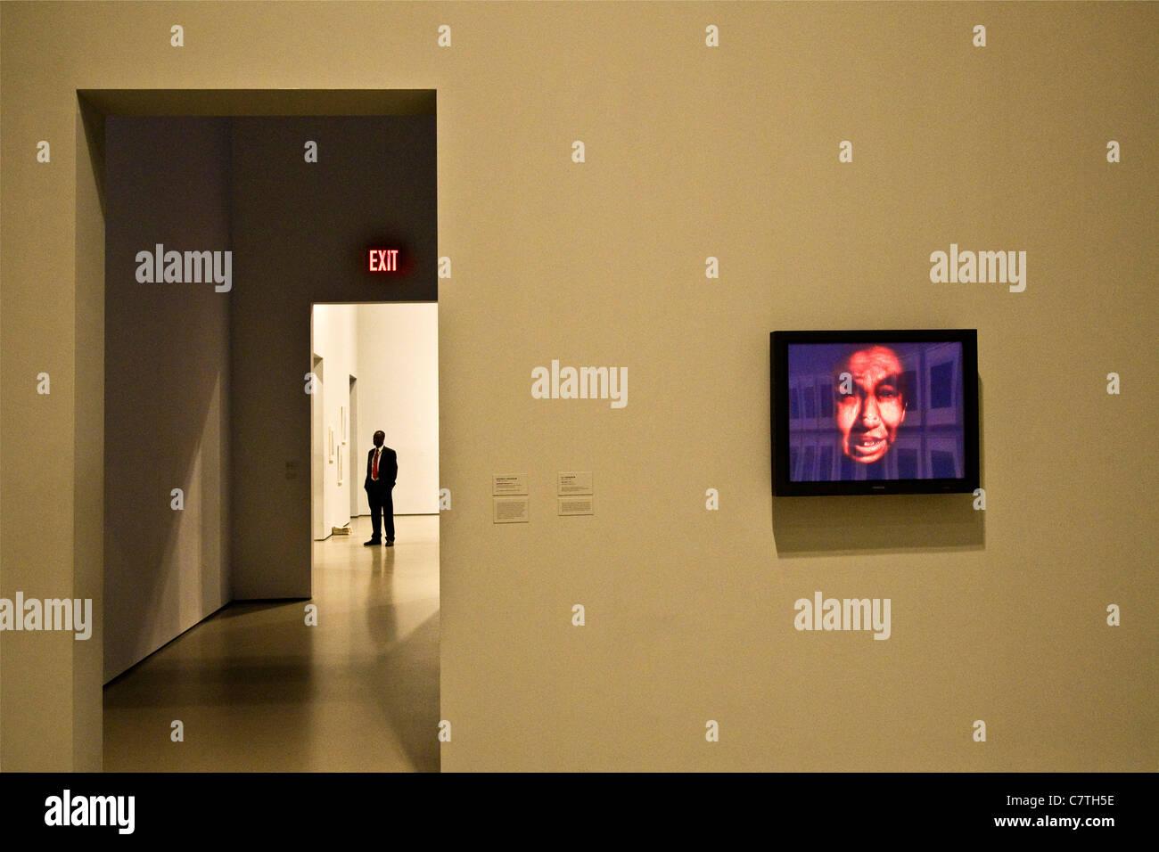 USA, New York, New York City, Manhattan, Museum of modern art, MOMA - Stock Image