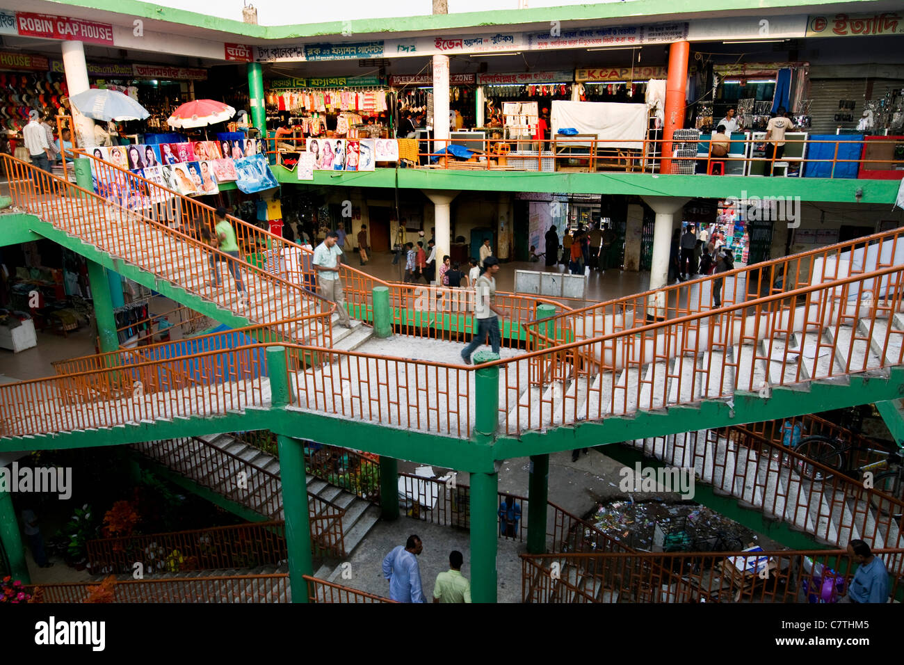 Bangladesh, Dhaka, the market - Stock Image