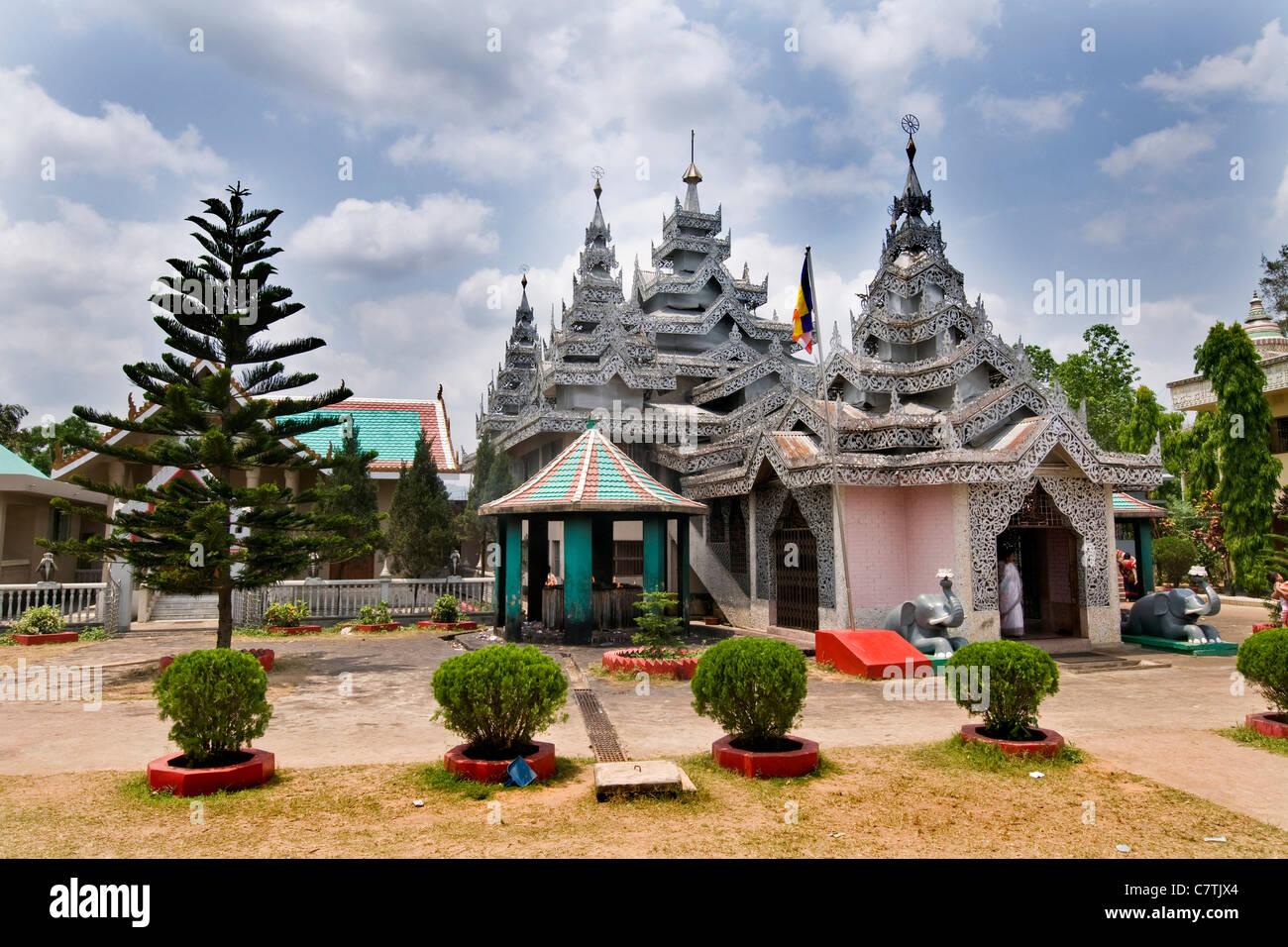 Bangladesh, Rajshashi, buddhist monastery - Stock Image