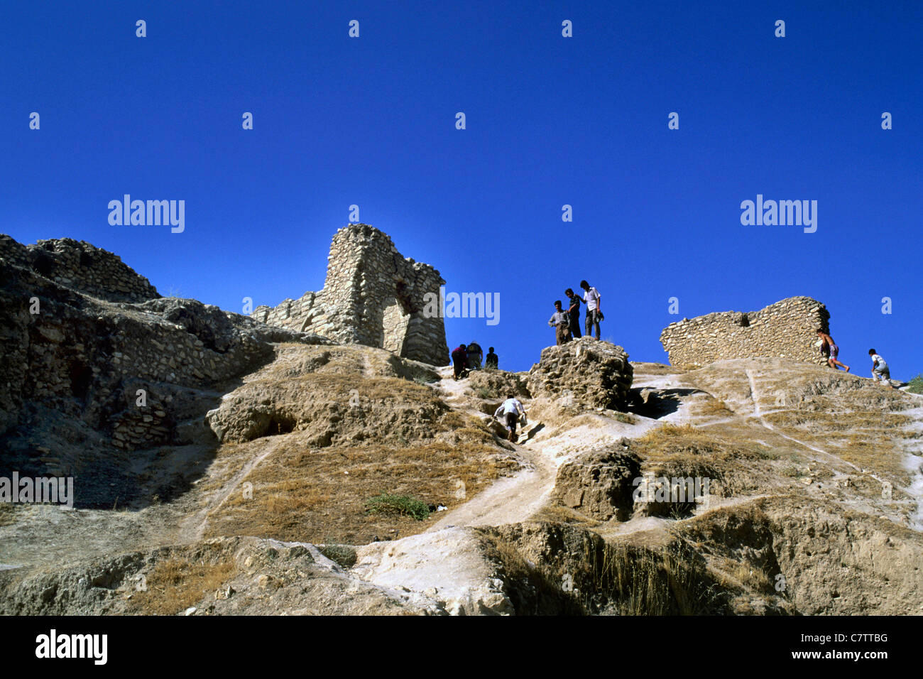Iraq, Hatra archeoligical site, - Stock Image
