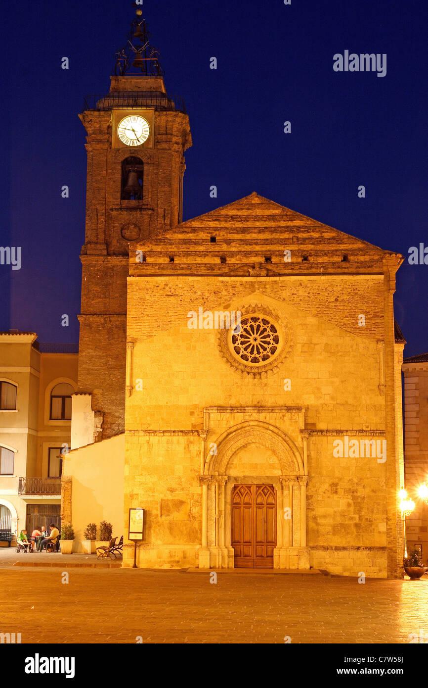 Italy, Abruzzo, Vasto, San Giuseppe cathedral - Stock Image