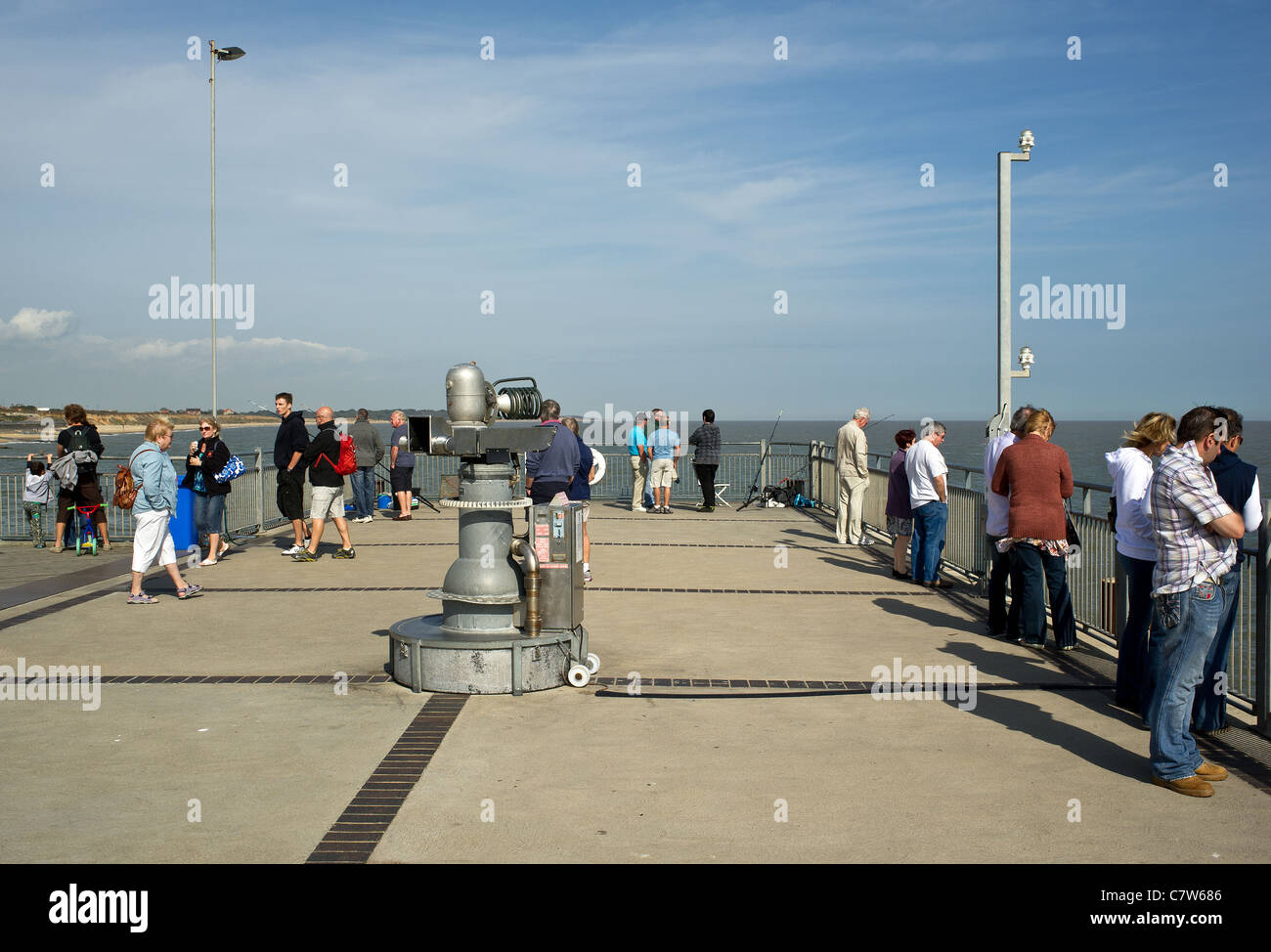Southwold Pier in Suffolk - Stock Image