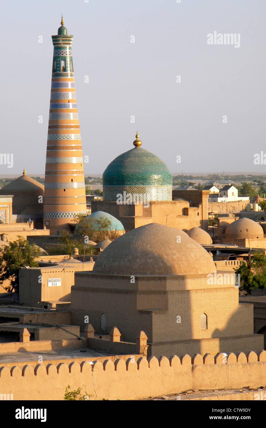 Uzbekistan, Khiva, Juma mosque - Stock Image