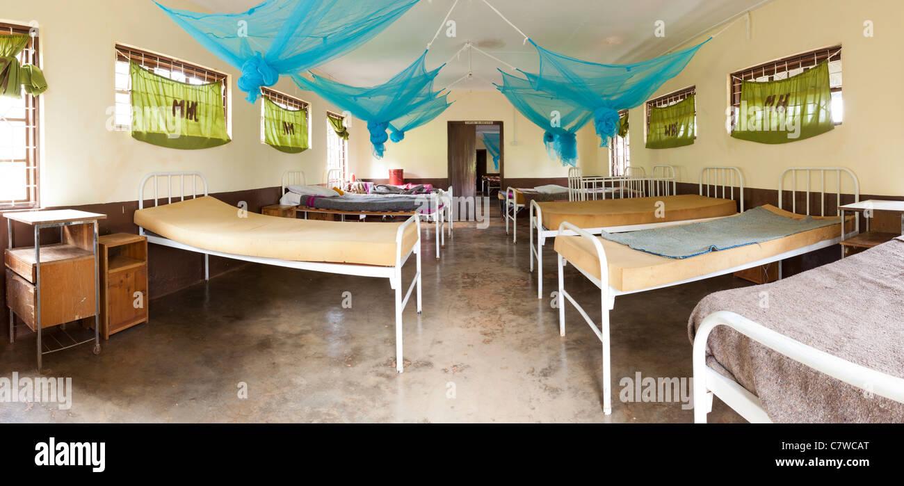Maternity ward at Mwika Uuwo Dispensary, Moshi, Tanzania - Stock Image