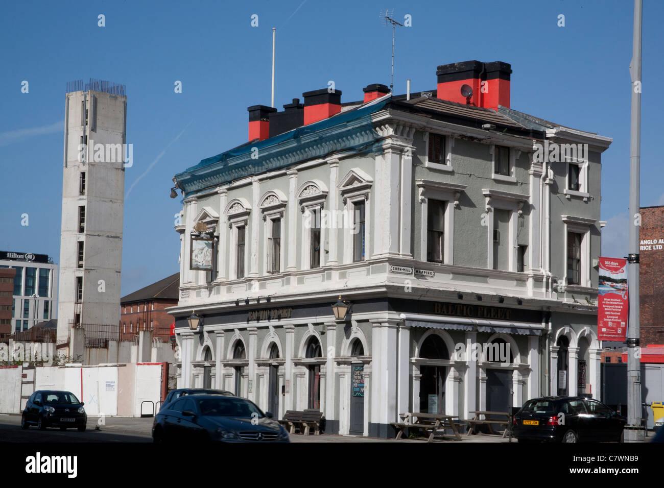 Baltic Fleet Pub, Liverpool, Merseyside, Liverpool England UK Stock Photo